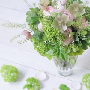 【札幌市内用】(M)ジェントルブーケ M「Gentle bouquet」