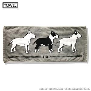 Bull Towel フェイスタオル グレー
