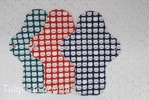 布ナプキンMサイズ(にゃんこ柄)