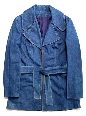 DESIGN DENIM LONG JACKET
