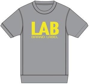LABスウェットTシャツ グレー S