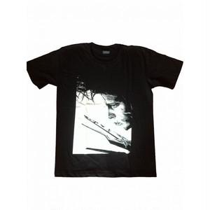 シザーハンズ Edward Scissorhands ジョニー・デップ プリント Tシャツ