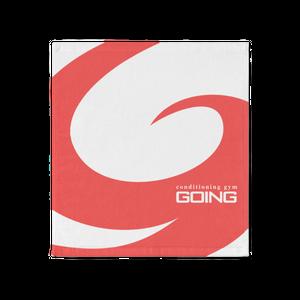GOINGオリジナルハンドタオル(ロゴ)