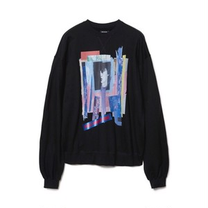 CHRISTIAN DADA - GRAPHIC PRINT SWEATSHIRT (BLACK) -