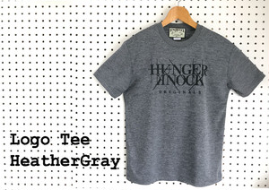 HK Logo Tee Dry / HeatherGray
