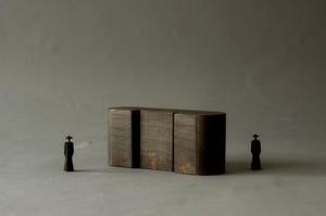 (065)wood figure-mini &structure 箱入 027