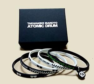 ATOMIC DRUM 5連シリコンバンド