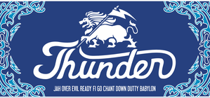 "THUNDER "" ORIGINAL TOWEL"" (Blue)"