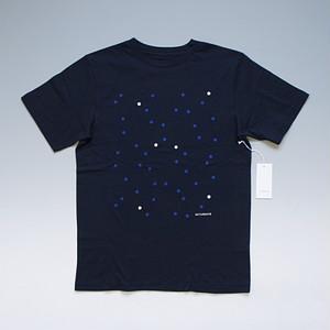 【メール便対応】SATURDAYS SURF NYC サタデーズ サーフ ニューヨーク Random Dots Printed Tシャツ ネイビー
