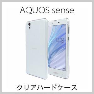 AQUOS sense SH-01K/ SHV40/ sense lite SH-M05 クリアハードケース  【Provare】