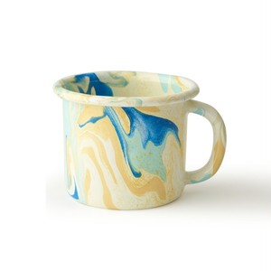 BORNN / NEW MARBLE - Large Mug - Lemon Cream