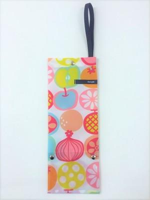 アンブレラサック・ミニ★フルーツピンク【折りたたみ傘収納バッグ】