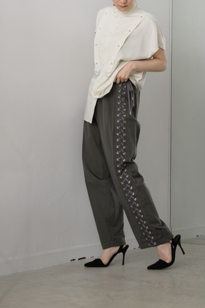 G.V.G.V. / LACE UP TROUSERS