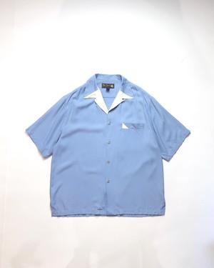 1980 silk open‐necked shirt