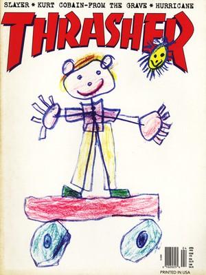 Thrasher Magazine  April 1995