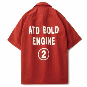 AT-DIRTY(アットダーティー)/BOLD S/S SHIRT (RED)