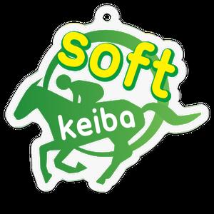 ソフト競馬ロゴ・アクリルキーホルダー