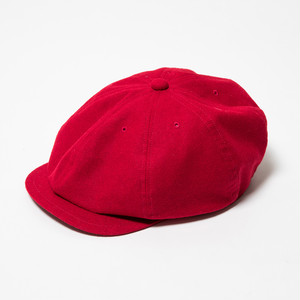 """Just Right """"Sports-Newsboy Cap Classic"""" Red"""