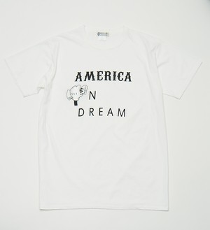 WL×Kurry American Dream T Shirt(WHITE LINE)