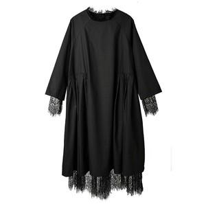 RIMI&Co. SELECT レースレイヤード 2WAYワンピース <Lace Layered Shirt Dress>