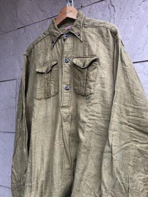 1930s French khaki shirts