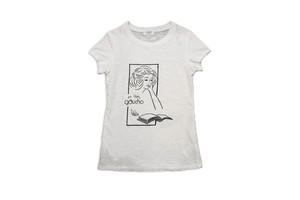GAUCHO capa designed by masa-sculp tee for ladies jimbocho/white 440-442