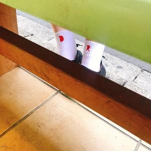 DAR Embroidery Ankle Socks