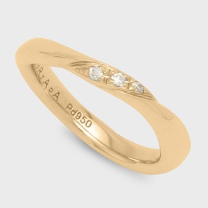 PORTADA BABY RING NOCTURNE (LADY'S MODEL) K18YG(ポルターダベビーリング ノクターン K18イエローゴールド ダイヤモンド)