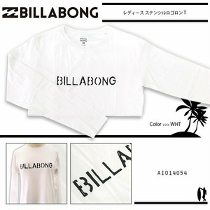 AI014-054 ビラボン ロングTシャツ 人気ブランド かっこいい ロゴ プリント 通販 白 入学 就職 プレゼント BILLABONG
