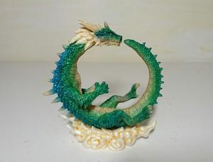 新色 龍神の輪  青緑龍