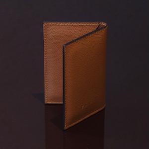 LIVERPOOL CAMEL / PINETTI DOUBLE BUISINESS CARD HOLDER CREAM(リバプール キャメル / ピネッティ ダブルビジネスカードホルダー)