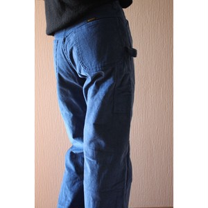 Vintage blue corduroy painter pants