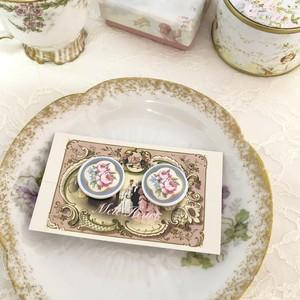 【vintage】earring/ Avon porcelain