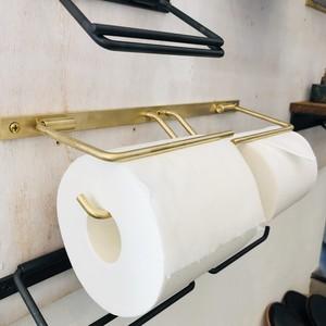 真鍮のトイレットペーパーホルダー(ダブル)