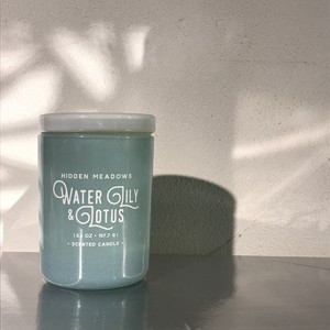 【Dw Home Candles】WATER LILY & LOTUS【アロマキャンドル】