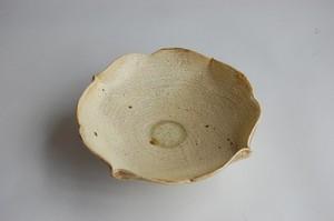 割れ化粧 輪花小鉢