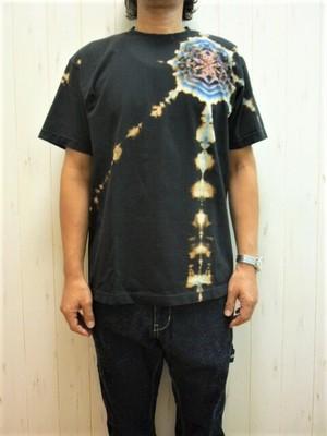 "HOY-DYE ""The Mandala"" S/S BK (ホイダイ ""ザ・曼荼羅"" Tシャツ ブラック) by Dead Dye"