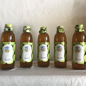 自然栽培梅シロップ 500ml×5