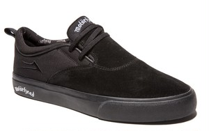LAKAI RILEY 2 x Motorhead BLACK SUEDE US8 ラカイ モーターヘッド