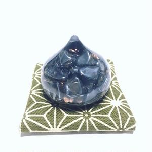 『なでなでミニ宝珠オルゴナイト』天然石たっぷりタイプ