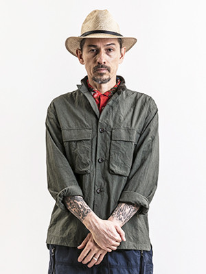 EGO TRIPPING (エゴトリッピング) STAND ARMY JACKET / OLIVE   613213-64