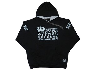 KING OF STREET14(57FAKE)Black×Gray