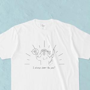 推しTシャツ 白