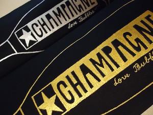 ワインバッグ / WINE bag G「ゴールド&シルバー / Gold & Silver」黒