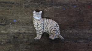 猫のマグネット:vintage