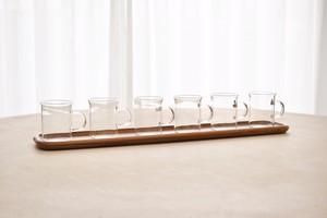 Boda Nova glass × Karl Holmberg tray set
