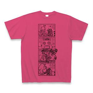 オリジナル4コマ漫画Tシャツ ② ホットピンク