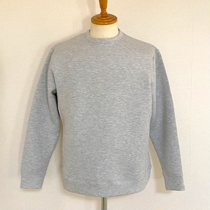 Double Knit Crewneck Sweat Pullover Moku Gray