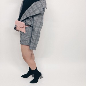 "Plaid Set Up ""gray"""
