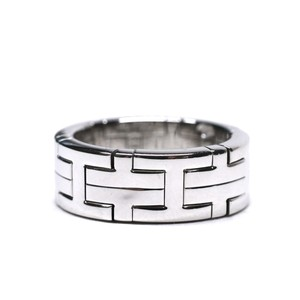 Hermès Vintage 18k White Gold Ring